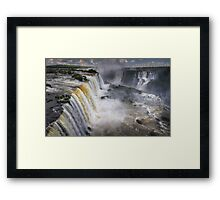 Waterfall Maelstrom Framed Print