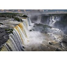 Waterfall Maelstrom Photographic Print