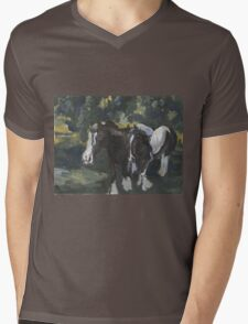 Gypsy Vanners Mens V-Neck T-Shirt