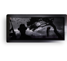 The Killing Canvas Print