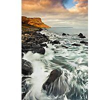 Canvas Waves Photographic Print