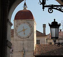 Trogir Clock Tower by Elena Skvortsova