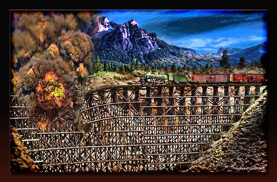 The Trestle by Richard  Gerhard