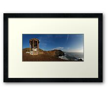 WW2 searchlight Framed Print
