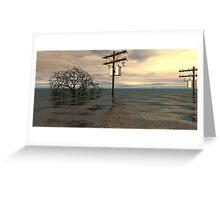 Western Queensland 2012 Greeting Card