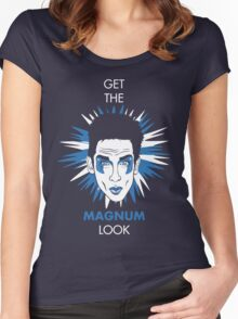 Get the Magnum look Women's Fitted Scoop T-Shirt