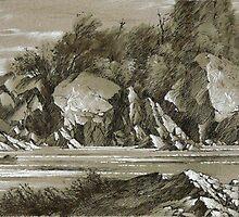 Onaping river. by Guennadi Kalinine