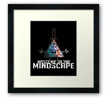 Welcome to The Mindscape -Spacey Framed Print