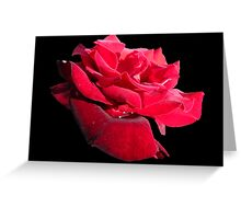 The Flower of Romance Greeting Card