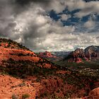 Sedona - on a cloudy day by Sylvain Dumas
