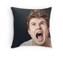Human qualities Throw Pillow