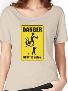 Danger! Complicated Death Ahead! Women's Relaxed Fit T-Shirt