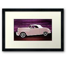 49 Dodge Wayfarer Roadster Framed Print
