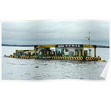 Floating Service Station Poster