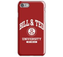Bill & Ted University iPhone Case/Skin