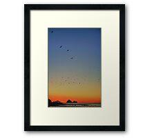 Sugar Loaf Sunset Framed Print