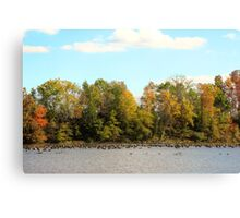 Green Lane Reservoir - East Greenville PA  - USA Canvas Print