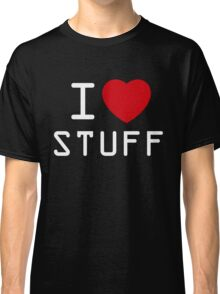 I Heart Stuff Classic T-Shirt