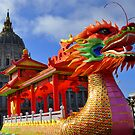 The Dragon Boat and City Hall by Bob Moore