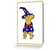Fourth of July Dog Greeting Card