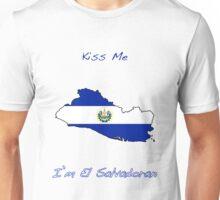 Kiss Me I'm El Salvadoran Unisex T-Shirt