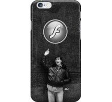 "Steve Jobs Says: ""Screw you Flash"" iPhone Case/Skin"