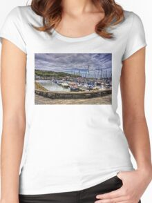 Bulwark Quay Women's Fitted Scoop T-Shirt