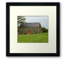 Irish Barn Conversion Framed Print