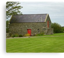 Irish Barn Conversion Canvas Print