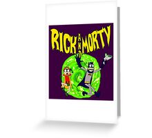 Rick and Morty BatDimension Greeting Card