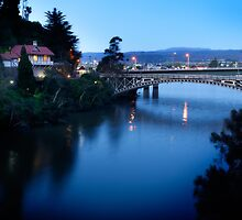 Kings Bridge, Launceston, Tasmania by Philip Kuruvita
