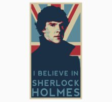 I Believe in Sherlock Holmes by moonblossom