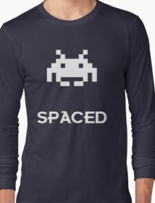 Spaced Long Sleeve T-Shirt