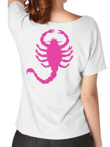 DRIVE SCORPION (PINK) Women's Relaxed Fit T-Shirt