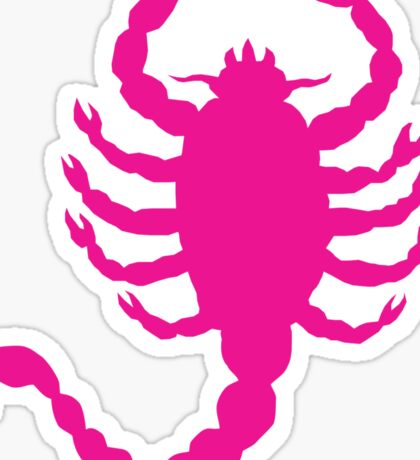 DRIVE SCORPION (PINK) Sticker