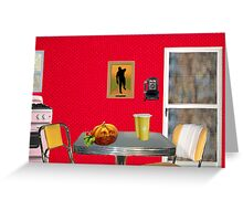 Beginning of The Day (Tribute To Wesselmann)  Greeting Card