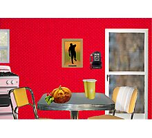 Beginning of The Day (Tribute To Wesselmann)  Photographic Print