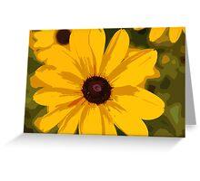 Black Eyed Susan 2 Greeting Card