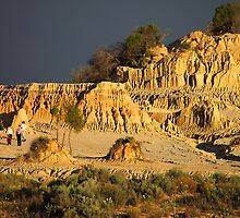 Pinnacles at Sunset #1 by Carole-Anne
