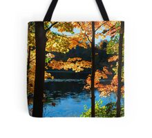 Foliage by the Nashua River Tote Bag