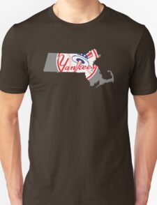 Massachusetts for Yankees T-Shirt T-Shirt