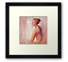 Portrait of Amy #2 Framed Print