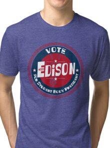 Vote Edison 2012 Tri-blend T-Shirt