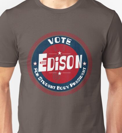 Vote Edison 2012 Unisex T-Shirt