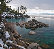Sand Harbor II, Lake Tahoe, NV by Kurt Golgart