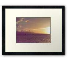 Lightness and Peace Framed Print