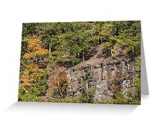 The Cliffs - Green Lane Reservoir - Green Lane PA - USA Greeting Card