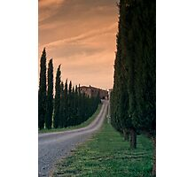 Tuscan Farmhouse Photographic Print