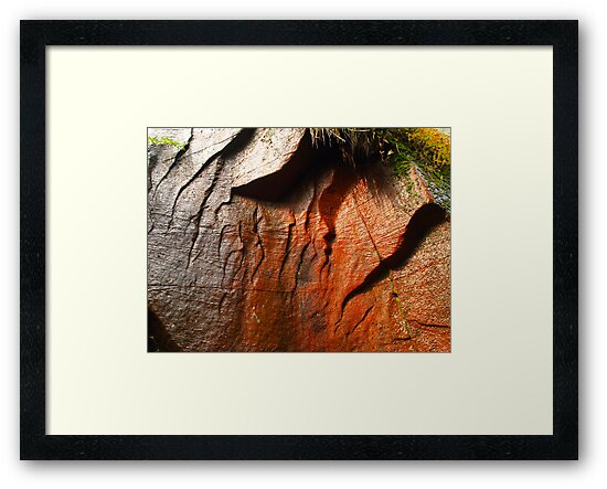 Colored rock by SHOT