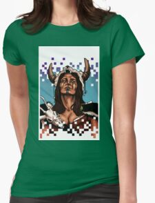 Barbarianna Print Womens Fitted T-Shirt